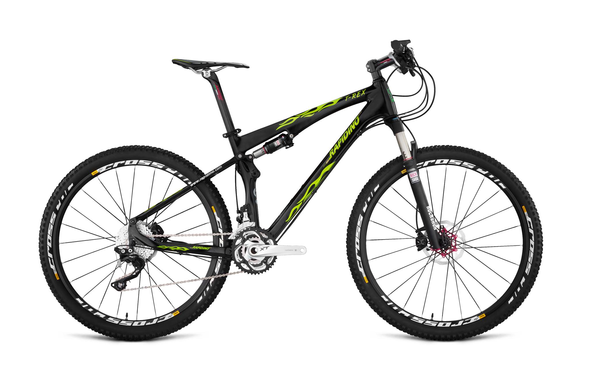 "Rapidino T-Rex 27.5"" Full Suspension Mountain Bike 